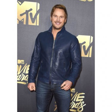 Chris Pratt MTV Award High Quality Leather Jacket