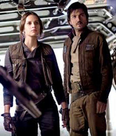 Cassian Andor Star Wars Rogue One Brown Leather Jacket
