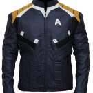 Star Trek Beyond Chris Pine James Kirk Faux Leather Jacket