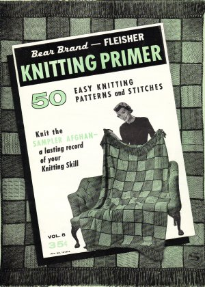 Vintage Knitting Pattern Stitch Library