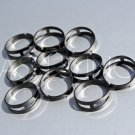 Gunmetal Adjustable Ring Blanks (10)
