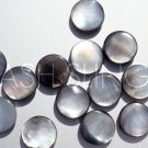 Quality Black Lip Mother of Pearl MOP Shell Coin Beads (13)