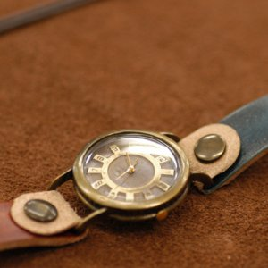 Marrianne handcraft watch studio SteamPunk Vintage Watch  Dymo Cho by revolt70