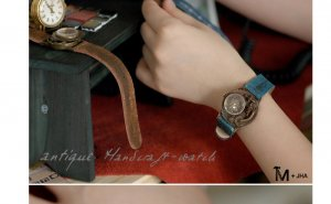 "lady watch ANTIQUE handmade watches ""DEAD LAND 3"""