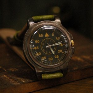 "military vintage fashion wrist watch ""GERMAN AIRFORCE """