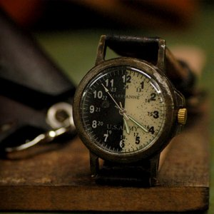 "SteamPunk Watch VINTAGE handmade watches "" US ARMY 2 """