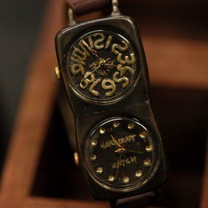 "SteamPunk Antique type Handmade Watches  ""DARK CHOCO"""