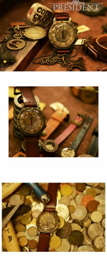 Vintage SteampunkS jewelry style handmade watch PRESIDE