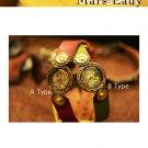 Vintage Steampunk jewelry style handmade watch MARS-L