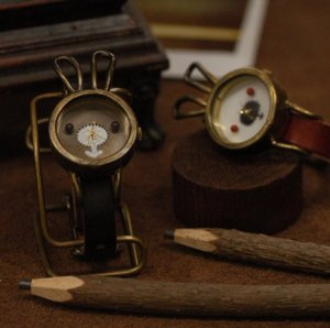 """STEAMPUNK handmade watches  """"  USAGI CHANG  """""""