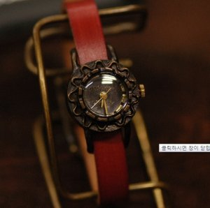 "ANTIQUE STEAMPUNK handmade watches  "" NAMINAMI  """