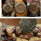 Roman vintage fashion SteamPunk Antique korea handmade wrist cuff watch U-ARC