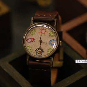 """Ooaks must have FUNNY handmade watch """" OMOROI STICH1  """""""