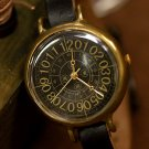 "SteamPunk Handmade Watches  "" Coffe Black """