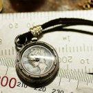 """mercury dime ""  Made to Order   handmade pendan watch"