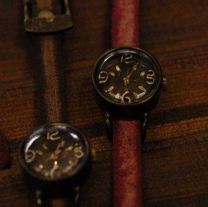 """Bracelets type Ooaks SteamPunk  Watch ANTIQUE handmade watch"""" 3.6.9 """""""