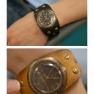 vintage bracelet SteamPunk Antique U-ARC korea handmade wrist cuff watch