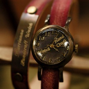 """SteamPunk antique handmade watches """"MEMORYLADY NAME """""""