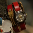 "SteamPunk antique handmade watches "" LOVE LADY NAME"""