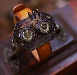 Bracelets type Vintage SteampunkS jewelry style handmade watch STEAM-B