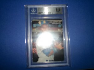 Ken Griffey Jr. Mother's Cookies Seattle Mariners #3 BGS 8.5