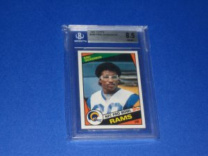 Eric Dickerson 1984 Topps #280 BGS 8.5