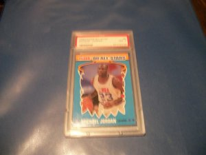 Michael Jordan 1990 Fleer All-Star #5 PSA 7