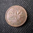 1941 Canada 1 Cent George VI