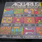 Astrology Kit Aquarius II Home Computer 1973 Vintage Never Opened Valued $100.00!