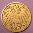 Germany 10 Pfennig 1906G Ruler: Wilhelm II