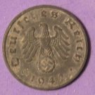 Germany 1 Reichspfennig Third Reich 1942A  Ruler: Adolf Hitler