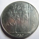 ITALY 100 Lire 1980R Coin