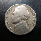 1941 Jefferson World War 2 Era 5 Cent Coin!