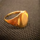 Antique Vintage Estate 14 Karat Solid Gold Ring 3.2 Grams Estimated 1800&#39;s Era!