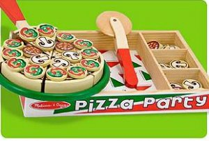 wooden Pizza Party