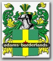 ADAMS - Borderlands - Coat of Arms - Family Crest GIFT! 4x6
