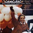 September 13, 1975 TEXAS LONGHORNS vs. COLORADO STATE Football Game Program