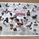 """Class of 2001"" ROUND ROCK EXPRESS Color Poster/ HOUSTON ASTROS/ Brad Lidge/ MLB"