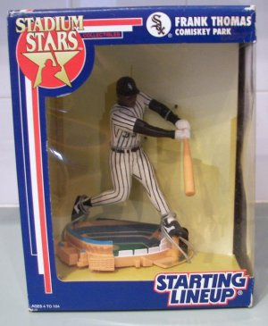 1992 FRANK THOMAS Chicago White Sox STARTING LINEUP Stadium Stars