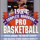 1994 THE COMPLETE HANDBOOK OF PRO BASKETBALL/ NBA/ Michael Jordan