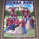2006 TEXAS A&M AGGIE FOOTBALL Yearbook/ Signed by Coach FRAN (Dennis Franchione)