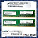 CRUCIAL 2x2GB PC2-4200 CL3 SDRAM 4GB 240pn 533 DDR2 RAM