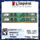 KINGSTON 2x1GB DDR2 PC2-3200 SDRAM 2GB 400MHZ LOW RAM