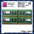 KINGSTON 2x2GB DDR2 PC2-5300 SDRAM 2GB 667MHZ ECC RAM