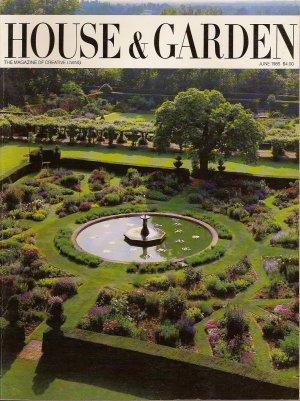 HOUSE & GARDEN 1980's Design Magazine June 1985 I.M. Pei Louvre Pyramid, Salisbury Hatfield House