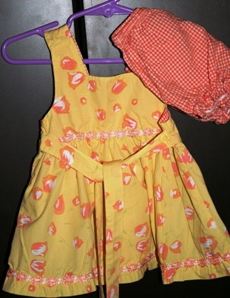 Baby Beri Spring Summer Dress 0-3 months
