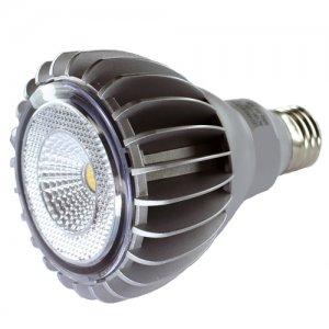 PAR30 8 WATT DIMMABLE LED LIGHT BULB WHITE - LPAR30D-880-W