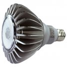 PAR38 10 WATT DIMMABLE LED LIGHT BULB WHITE - LPAR38D-1040-W