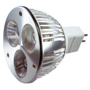 (Pack of 2)MR16 3.5 watt GU5.3 base White - LMR16-345-W