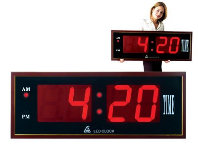 Big Ben Red LED Clock # TL 248